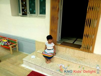 @ KNG Kids Delight on their first day...