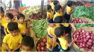 Field Trip - Vegetable Market